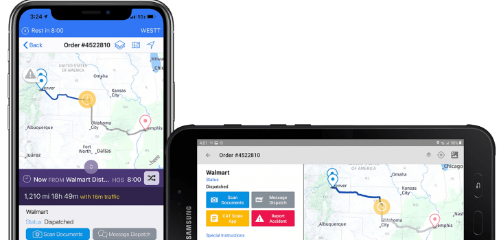 Driver Workflow Apps on iPhone and Android